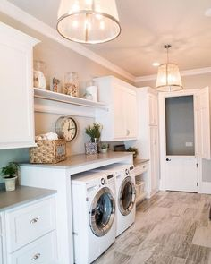 Beautiful laundry room tile pattern ideas (14)