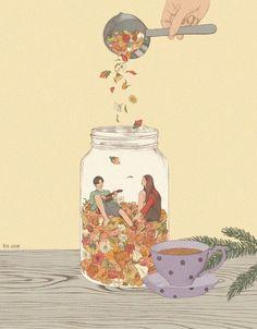 ᐅ Die 99 Besten Bilder von Illustration in 2019 Heo Jiseon Art And Illustration, Illustrations And Posters, Japanese Drawing, Art Graphique, Psychedelic Art, Aesthetic Art, Cute Art, Art Inspo, Amazing Art