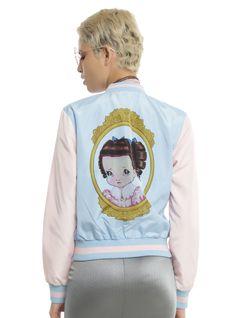 74b91f3611a2e Melanie Martinez Cry Baby Girls Satin Souvenir Jacket
