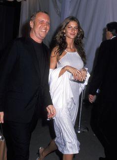 Michael Kors et Gisele Bundchen à New York en 1999
