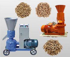Wood pellet machine for pellet stove