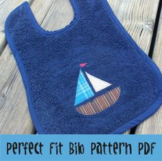 Perfect Fit Bib Pattern PDF by BusyQuiltMom on Etsy