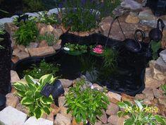 Hometalk :: First pond ever...