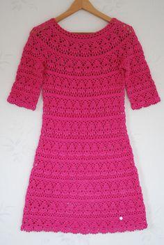 Crochet by Tukta: dress no.3