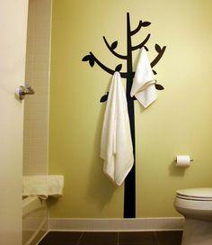 porte serviettes en bambou 3 barres rangement salle de. Black Bedroom Furniture Sets. Home Design Ideas