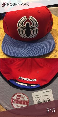 Spider-Man brand new new era SnapBack Brand new with tags New Era  Accessories Hats 01c13155d140