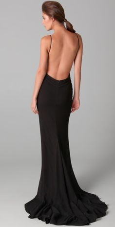 Hakaan black - Osmera - Luv the back of this dress!!! Come on SKINNY ME!!!