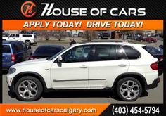 2007 BMW X5 4.8i. 4 Locations in the Calgary area. House of Cars Inc. 5329 1A St. SW Calgary, AB T2H OE5 587-352-7307 www.houseofcarscarscalgary.com We specialize in helping our clients rebuild credit and get them in a new car at a reasonable rate and with some exclusive options.  #Calgary #Alberta #Canada #HouseofCars #HighEnd #Quality #Preowned #Dealership #Car #Truck #SUV #Crossover #financing #drive #luxury #sedan #coupe #sporty #convertible #service #bmw #x5 #crossover