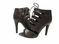 The hot little Scanda bootie is also available in black! #shoehaul #shoehaulonline #bootie #heels #laceup