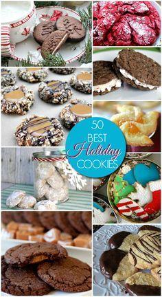 #50 Best & Easiest Christmas Cookies Recipes !!!