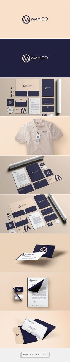 Mahigo Corporate Branding on Behance | Fivestar Branding – Design and Branding Agency & Inspiration Gallery