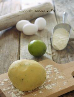 pasta frolla al lime +