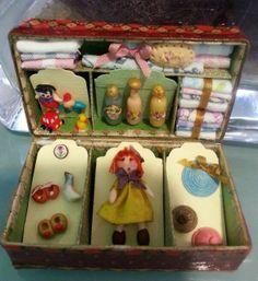 Miniaturas de Inés Moreno.