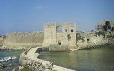 The road of the castles, in Methoni, Peloponnese: http://alternatrips.gr/en/peloponnese/methoni/road-castles-methoni-peloponnese #alternatrips #peloponnese #castle_methoni #methoni #Greece
