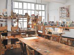 The Studio of Dieter and Björn Roth, Ackermannshof, Basel