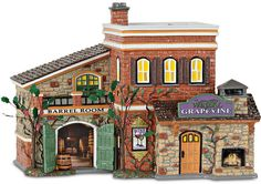 Shop the latest collection of Department 56 Snow Grapevine Winery Village Lit Building, Multicolor from the popular stores - all in one The Sims, Sims 4, Villas, Fire Pit Accessories, Griswold Family Christmas, Christmas Villages, Lemax Christmas, Diy Christmas, Lampoon's Christmas Vacation