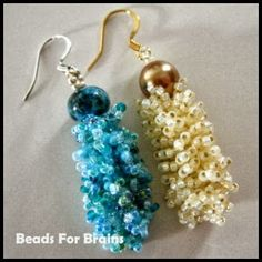 Froo Froo Earrings! - Beads For Brains:  365