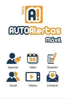 AUTO Alertas Móvil Perú - Pantalla principal de la app para mantener a tu auto siempre como nuevo. Ahora en Perú.