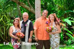 These wives thought they were going to Costa Rica on vacation. These husbands surprised them by renewing their vows on a tropical beach. How romantic is that?!! Sigh. Click here for info http://www.discoverybeachouse.com/beachfront-weddings-up-to-50-guests.