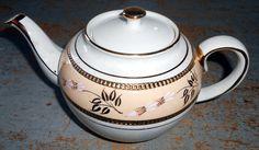 Vintage Tea Pot Sadler Staffordshire England Ivory by TheBackShak