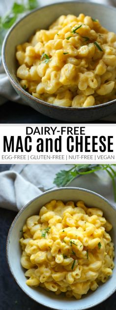 Dairy-free Mac and Cheese - The Real Food Dietitians