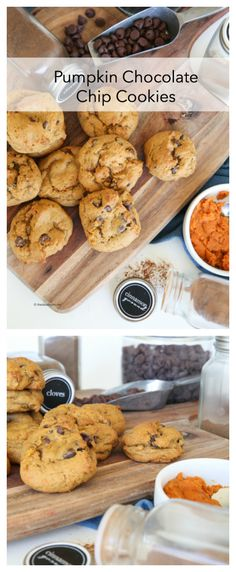 Pumpkin Chocolate Chip Cookies Recipe || This Pumpkin Chocolate Chip Cookies Recipe is one of the best that we have tried. Crispy on the outside and chewy on the inside!