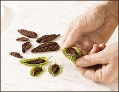 mint chocolate garnish