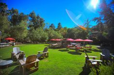 Malibu Cafe at Calamigos Ranch.  I saw this on the Eye on LA show. Looks like a really neat place with great food!