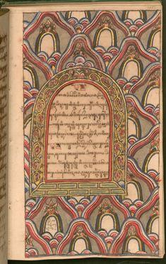 Javanese Manuscript of the Adventures of Hamza — Viewer — World Digital Library Javanese, The Deed, Illuminated Manuscript, Writing A Book, Bait, Book Art, Folk, Ornament, Adventure
