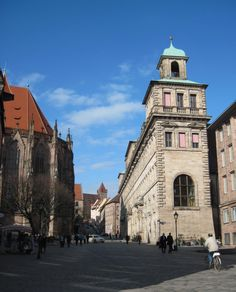 Getting To The Imperial Castle In Nuremberg, Germany