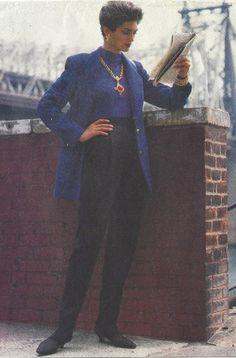 90s Anne Klein Womens Below Hip Jacket & High by CloesCloset