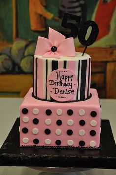 Pink & Black Brithday | Flickr - Photo Sharing!