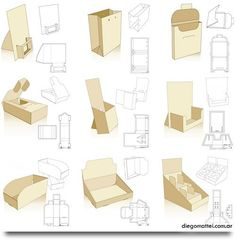 253 free display and packaging templates - wow! - your-craft.co