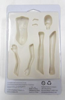 Polymer Clay Doll Molds | Sculpey® Doll Maker™ Flexible Push Mold ­ Fairy Mold