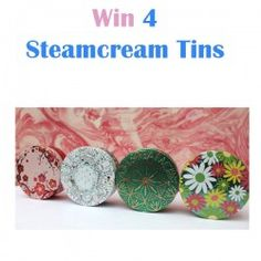 Win 4 Steamcream Tins ^_^ http://www.pintalabios.info/en/fashion-giveaways/view/en/3307 #International #Cosmetic #bbloggers #Giweaway