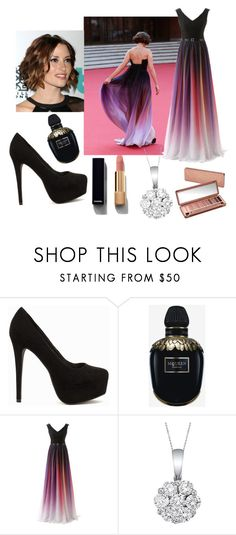 """""""ıt was like"""" by hanife-dogrul ❤ liked on Polyvore featuring Nly Shoes, Alexander McQueen, Allurez, Chanel and Urban Decay"""