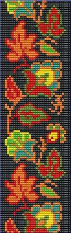 Наташа Капралова                                                                                                                                                                                 More Seed Bead Patterns, Peyote Patterns, Weaving Patterns, Bead Loom Designs, Beaded Banners, Bead Loom Bracelets, Tapestry Crochet, Tapestry Weaving, Beaded Bags