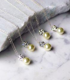 Custom Pearl Drop Sterling Silver