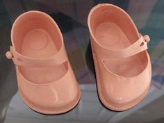 Can remember Cinderella dolls shoes, and buying them separately as with dolls outfits. All pretty colours and sizes 1970s Childhood, My Childhood Memories, Childhood Toys, Sweet Memories, Vintage Dolls, Vintage Pink, Pink Doll, Doll Shoes, Old Toys