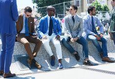 Tommy Ton's Street Style: Pitti Uomo Spring 2014
