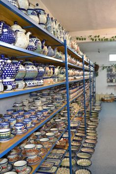 Boleslawiec, Poland (aka Polish Pottery Heaven)   I wish i could go back. You get a lot for very little money :)