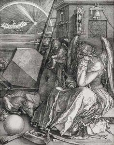 Titulo de la imágen Alberto Durero - Melancolía