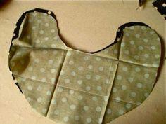 Microwave heating pad for sore necks #tutorial