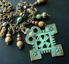 NEW Coptic Cross Pendant by lilruby, via Flickr