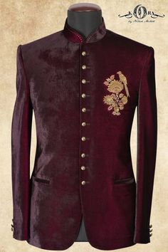 men suits modern -- Click Visit link for more info Indian Men Fashion, Mens Fashion Suits, Mens Suits, Men's Fashion, Sherwani Groom, Mens Sherwani, Wedding Sherwani, Wedding Dress Men, Wedding Suits