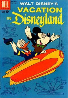 "Vintage Walt Disney's ""Vacation In Disneyland"""