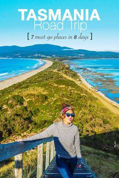Tasmania Road Trip - 7 must-go places in 8 days