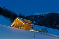 Almhütte im Winter - Sport- & Familienhotel Frühauf, Kärnten