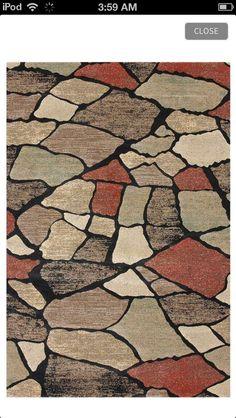 Cobblestone rug!