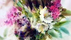 yazdchi watercolor painting-5 - YouTube